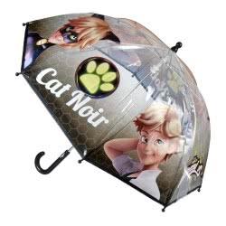Cerda Miraculous Ladybug Cat Noir Kids Umbrella Yellow Transparent 71 cm 2400000369 8427934994045