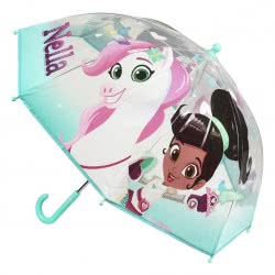Cerda Princess Nella Kids Umbrella Yellow Transparent 71 cm 2400000412 8427934198795