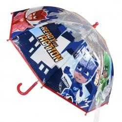 Cerda PJ Masks - Πιτζαμοήρωες Ομπρέλα Παιδική Πολύχρωμη Διάφανη 71 εκ 2400000363 8427934993482