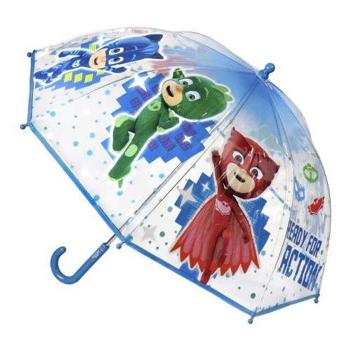 Cerda PJ Masks - Kids Umbrella Blue Transparent 71 Cm 2400000404 8427934198719