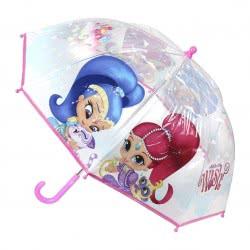 Loly Shimmer And Shine Kids Umbrella Pink Transparent 71 Cm 2400000407 8427934198740