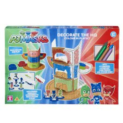 GIOCHI PREZIOSI PJ Masks Decorate The Headquarter PJC25000 8056379069126