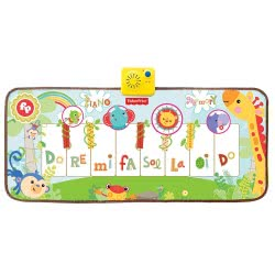 Fisher-Price Dancin Tunes Music Mat With 8 Melodies KFP2114 731398921140