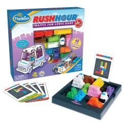 ThinkFun Παιχνίδι Λογικής Rush Hour Jr. 005041 019275050412