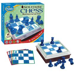 ThinkFun Παιχνίδι Λογικής Solitaire Chess 003400 019275034009