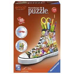 Ravensburger 3D Puzzle 108 Pieces Emoji Shoe 11218 4005556112180