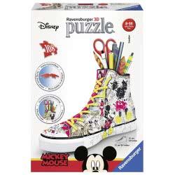 Ravensburger 3D Puzzle 108 Pieces Mickey Mouse Shoe 12055 4005556120550