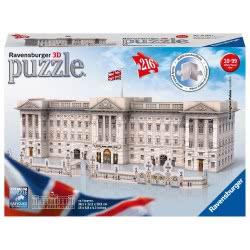 Ravensburger 3D Puzzle Midi 216 τεμ. Το Παλάτι του Μπάκιγχαμ 12524 4005556125241
