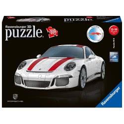 Ravensburger 3D Puzzle 108 Pieces Porsche 911R 12528 4005556125289