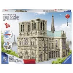 Ravensburger 3D Puzzle Maxi Νοτρ Νταμ - Notre Dame 324 Τεμ. 12523 4005556125234