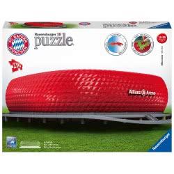 Ravensburger 3D Puzzle Maxi 216 Τεμ. Allianz Arena 12526 4005556125265