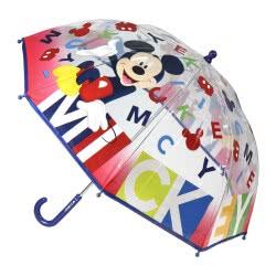 Cerda Mickey Mouse Ομπρέλα Παιδική Πολύχρωμη Διάφανη 71 εκ 2400000402 8427934198696