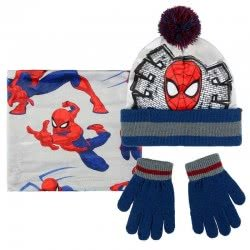Cerda Spiderman Scarf, Hat And Glove Set 2200003203 8427934199815