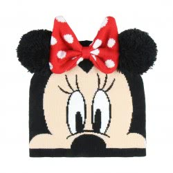 Cerda Disney Minnie Mouse Winter Hat Black 2200003292 8427934201013