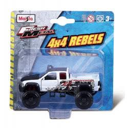 Maisto Fresh Metal 4X4 Rebels Vehicles - 6 Designs 25205 090159252054
