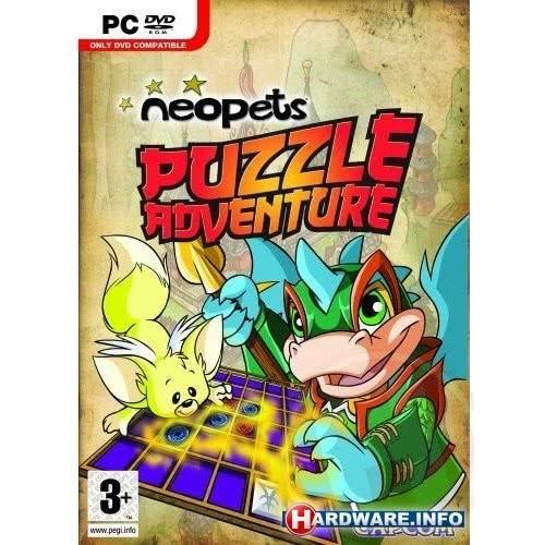 CAPCOM PC Neopets Puzzle Adventure  5055060970645