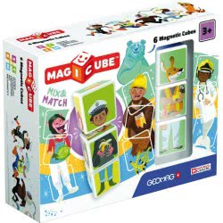 Geomag Magicube Mix And Match 6 Magnetic Cubes PF.331.123.00 871772001232