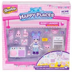 GIOCHI PREZIOSI Shopkins Happy Places Series 2: Welcome Pack - 3 Designs HAP06000 8056379026860