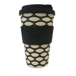 ecoffee cup Ecoffee Ποτήρι Bamboo με καπάκι 400ml Basketcase 600111 5060136004858