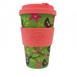 ecoffee cup Ecoffee Ποτήρι Bamboo με καπάκι 400ml Widdlebirdy 600116 5060136004926