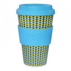 ecoffee cup Ecoffee Ποτήρι Bamboo με καπάκι 400ml Norweaven 600117 5060136004919