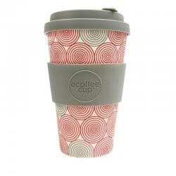 ecoffee cup Ecoffee Ποτήρι Bamboo με καπάκι 400ml Swirl 600118 5060136004902