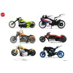 Mattel Hw Deluxe Μηχανές 1:18 47118 074299471186