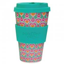 ecoffee cup Ecoffee Ποτήρι Bamboo με καπάκι 400ml Itchkoo 600124 5060136005060