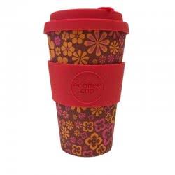 ecoffee cup Ecoffee Ποτήρι Bamboo με καπάκι 400ml Yeah Baby 600125 5060136005077