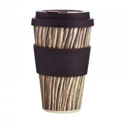 ecoffee cup Ecoffee Ποτήρι Bamboo με καπάκι 400ml Baumrinde 600141 5060136005749