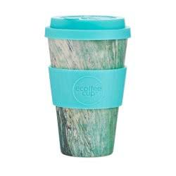ecoffee cup Ecoffee Ποτήρι Bamboo με καπάκι 400ml Marmo Verde 600142 5060136005756