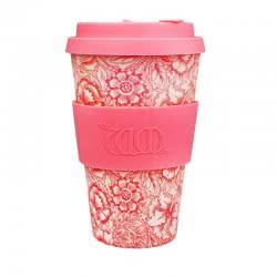ecoffee cup Ecoffee Ποτήρι Bamboo με Καπάκι 400ml Poppy 600501 5060136005329