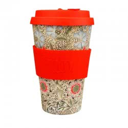 ecoffee cup Ecoffee Ποτήρι Bamboo με καπάκι 400ml Corncockle 600503 5060136005343