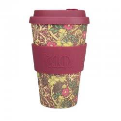 ecoffee cup Ecoffee Ποτήρι Bamboo με καπάκι 400ml Seaweed 600505 5060136005367