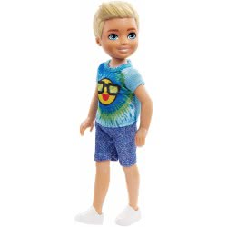 Mattel Barbie Club Chelsea: Blonde Boy with Emoji Blouse DWJ33 / FRL83 887961628166