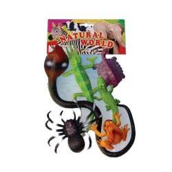 Toys-shop D.I Natural World Reptiles Animals JZ056028 6990718560283