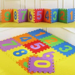 Toys-shop D.I Παζλ Δαπέδου EVA 10 τεμάχια floor mat JZ054141 6990718541411
