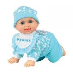 Toys-shop D.I Crawling Baby Doll 26Cm Asst.2 JO083042 6990718830423