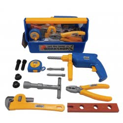 Toys-shop D.I Βαλιτσάκι με Εργαλεία 13τεμ JU041318 6990718413183