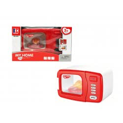 Toys-shop D.I Φούρνος Μικροκυμάτων Παιχνίδι Με Μπαταρία B/O Microwave JB054316 6990718543163