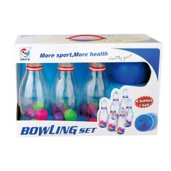 Toys-shop D.I Σετ Bowling 24εκ ύψος κορίνας JS056598 6990718565981