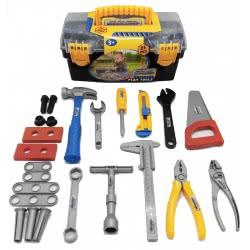 Toys-shop D.I Βαλιτσάκι Σετ με 25 εργαλεία JU041310 6990718413107