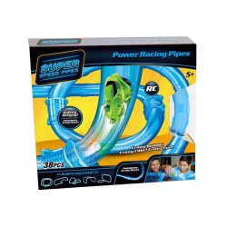 Toys-shop D.I Power Racing Tubes Πίστα Με Αυτοκινητάκια (Σετ 38 Τεμάχιων) JF061474 6990718614740