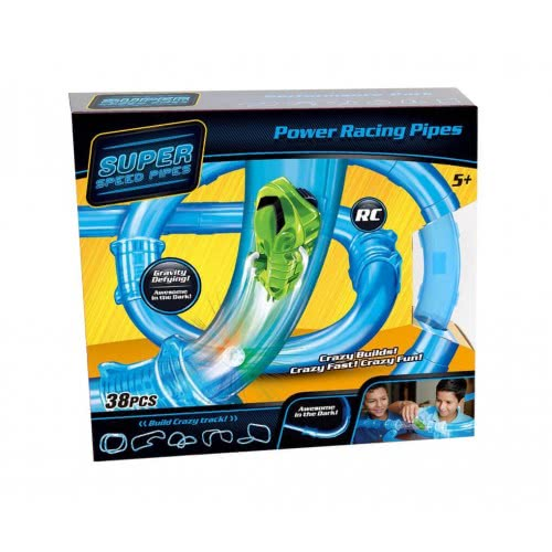 Toys-shop D.I Power Racing Tubes Πίστα με αυτοκινητάκια (σετ 38 τεμάχιων) JF061474 6990718614740