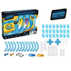 Toys-shop D.I Power Racing Tubes Πίστα Με Αυτοκινητάκια (Σετ 78 Τεμάχιων) JF061475 6990718614757