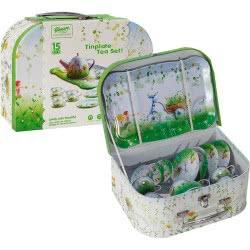 OEM Κουζινικά Σετ Τσάι Μεταλλικά Σε Πράσινο Βαλιτσάκι Tinplate Tea Set 640303-555 6033950640303