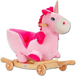OEM Ride Along Unicorn with Sound, Pink 640655-GW-09 6033950640655