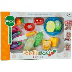 OEM Sectile Food Set Of Vegetables With Middle Cut 743271 5022849743271