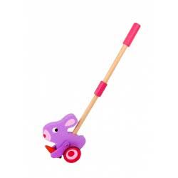 TOOKY TOY Push Along Bunny Wooden Toy TKE001 6970090045981