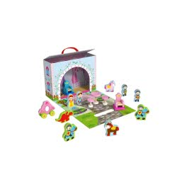 TOOKY TOY Wooden Princess Story Play Box ΤΥ202 6970090048135
